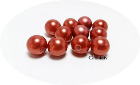 Perle acrilice caramizii 11mm PE007