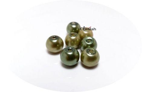 Perle acrilice de culoare verde inchis PE005