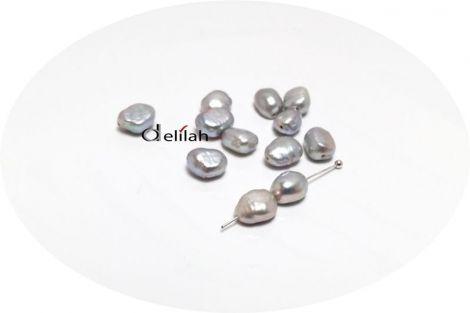 Perle de cultura gri neregulate 7  9mm