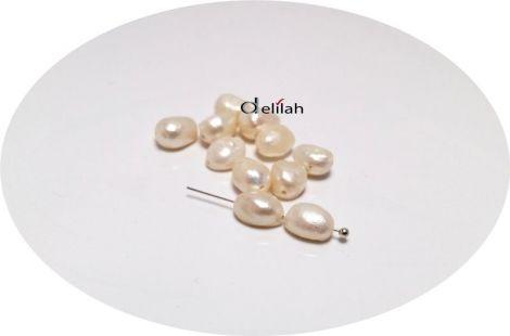 Perle de cultura bej neregulate 67-9mm PE035