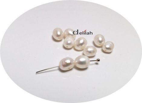 Perle de cultura albe PE031