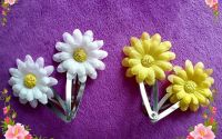 Agrafaclama cu floare