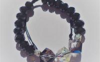 Bratara handmadeunisex din cristale