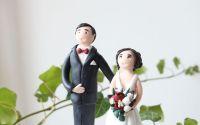 Figurina personalizata de tort pentru nunta