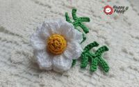 Sweet Daisy - brosa crosetata