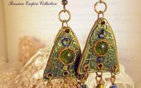 Cercei handmade foarte lungi - Bukhara