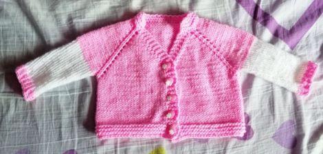 Jacheta tricotata
