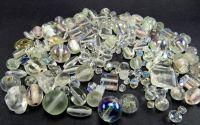 Margele sticla transparente diverse marimi