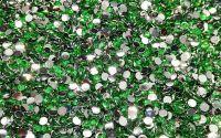 250 buc Rhinestones rasina green 3mm