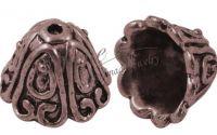 Capac cupru antichizat 15x11mm