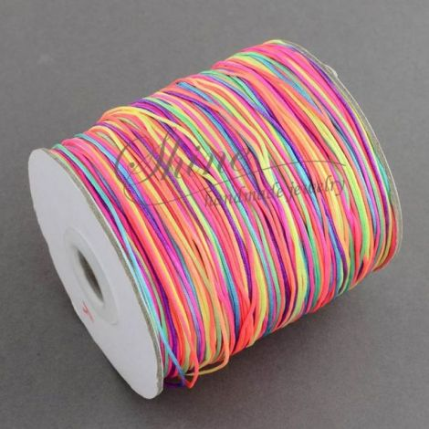 Snur macrame multicolor 1mm