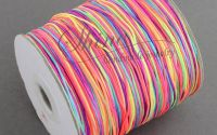Snur macrame multicolor 1mm