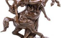 Centaur - statueta din bronz pe soclu din marmura