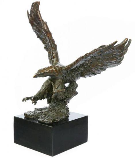 Vultur mare - statueta din bronz
