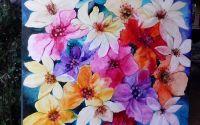 Pat de tuberozetablou cu flori Bissinger