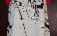 Bluza bumbac satinat imprimat