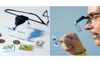 Lupa-ochelari cu LED de iluminare modelismhobby