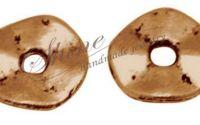 Distantier disc ondulat cupru 7x1mm