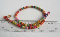 Rondele magnezit colorat X63buc
