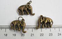 Charm elefantel x 3buc