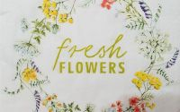 1608 Servetel fresh flowers