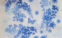 1609 Servetel flori albastre