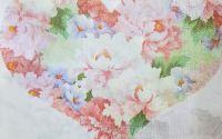 1610 Servetel inima cu flori