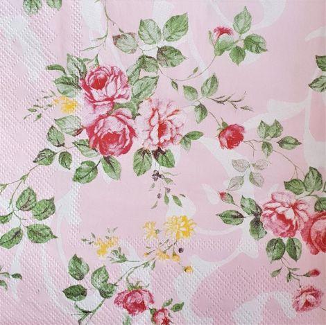 1624 Servetel trandafiri roz 1