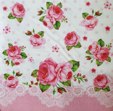 1625 Servetel trandafiri roz 2