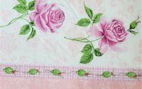1626 Servetel trandafiri roz 3