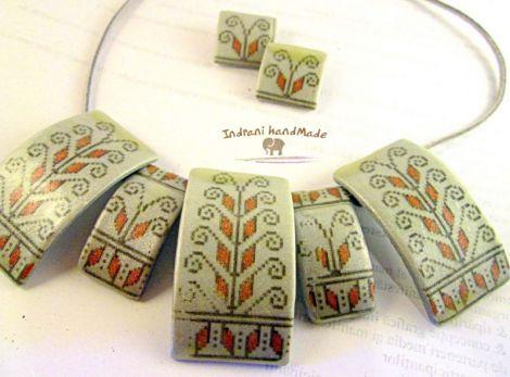 "Set de bijuterii ""Traditii Moldave"""