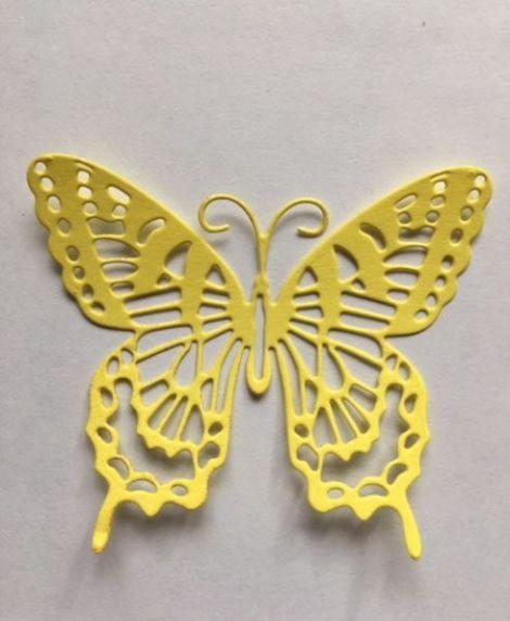 Forma de fluture - pretaiat - din carton