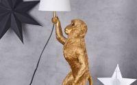Lampa de masa  cu o maimuta