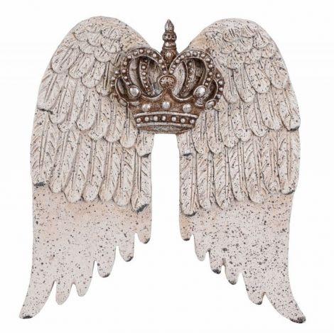 Set aripi din polystein cu o decoratiune