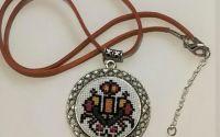 Medalion etno Culorile Vietii