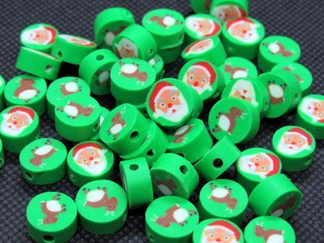 10buc reni  mosi disc polymer clay 10x4-4.5mm