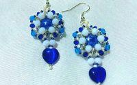 Cercei Blue Heart