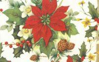 1718 Servetele flori de Craciun