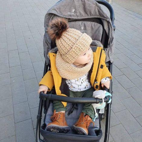 Set fular caciula copil sau adult