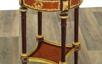Masuta cafea Louis XVI din lemn masiv furniruit