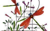 Decoratiune din fier forjat antichizat cu libelule