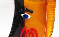 Vaza deosebita din sticla Murano