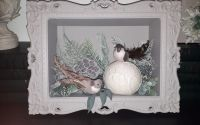 "Decoratiune in tablou ""Birds"""