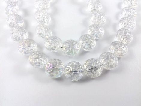 Banut cristal clear efect AB 14 x 7 mm