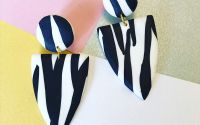 Cercei Animal Print - Zebra