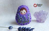 Brosa Matrioska - Lavender