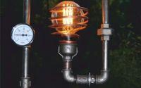 lampa steampunkdesigncj lampa steampunk