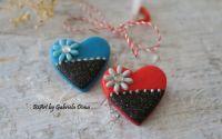 Inima rosie sau albastra - 2buc disponibile