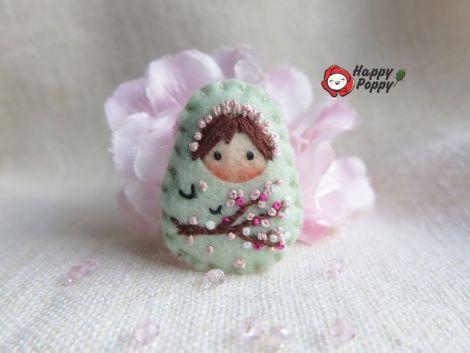 Brosa Matrioska - Cherry blossom