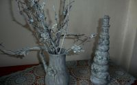 Decoratiuni shabbby chic  cadou  nunta martisor